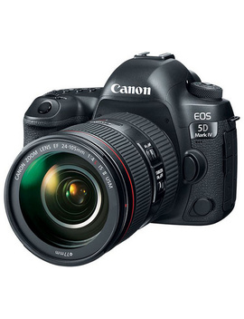 Canon Eos 5 D Mark Iv Ef 30.4 Mp Camera & 24 105mm Lens by Canon