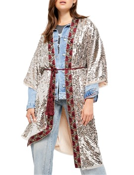 Light Is Coming Sequin Duster by Free People