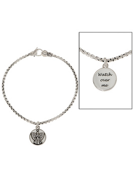 Jai Sterling Silver 2.7mm Box Chain Charm Bracelet by Jai