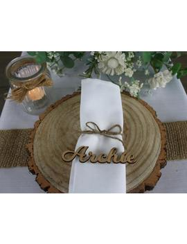 Wooden Laser Cut Names Wedding Table Place Names Guests Wooden Place Name Keepsake Stained Light Oak Ply, White Or Plain  Made In The Uk by Etsy