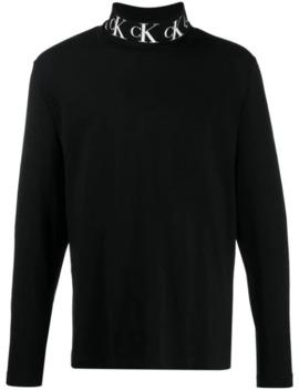 Rollkragenpullover Mit Monogramm by Calvin Klein Jeans