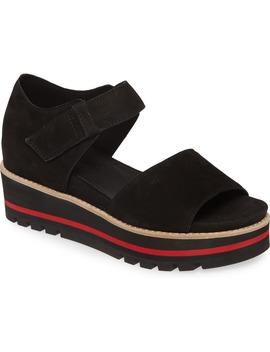 Luella Leather Platform Sandal by Eileen Fisher