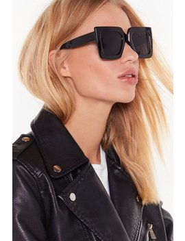 Only Eyes For You Oversized Sunglasses by Nasty Gal