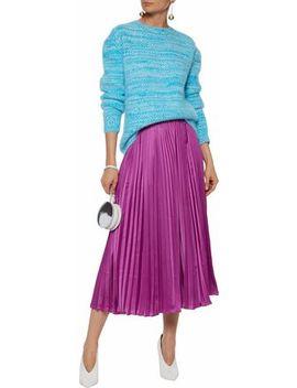混紡 アンゴラ混 セーター by Diane Von Furstenberg