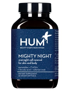 Mighty Night Overnight Renewal Dietary Supplement by Hum Nutrition