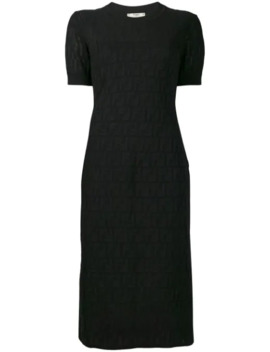 ロゴ パターン ドレス by Fendi