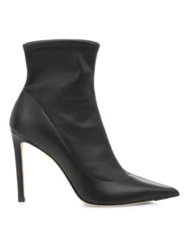 Brin Leather Sock Booties by Jimmy Choo
