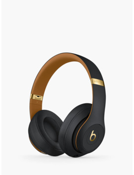 Beats Studio³ Wireless Bluetooth Over Ear Headphones With Pure Adaptive Noise Cancelling & Mic/Remote, Skyline Collection, Midnight Black by Beats