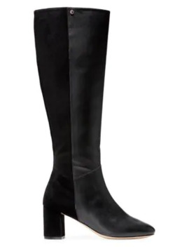 Rianne Knee High Leather Boots by Cole Haan