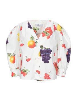 Hemden Und Blusen Mit Blumen by Msgm