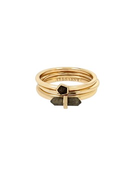 Set Of 3 Stackable Rings by Allsaints