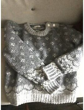 Auth Nwt Love Shack Fancy Rosie Pullover In Fairy Dust Grey Size Small $400 Wool by Ebay Seller