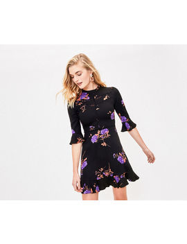 Floral Lace Skater Dress by Oasis