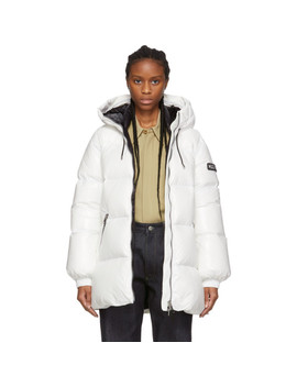 Off White Down Emerie Jacket by Mackage