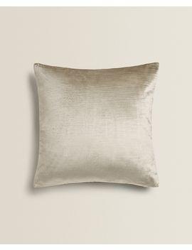 Velvet Cushion Cover  Cushions   Living Room by Zara Home