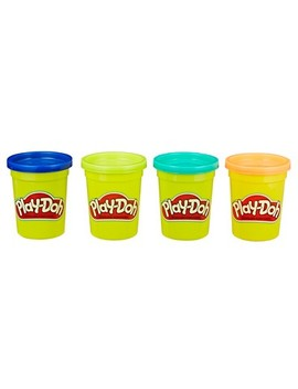 Play Doh 4pk Modeling Compound Wild Colors by Play Doh