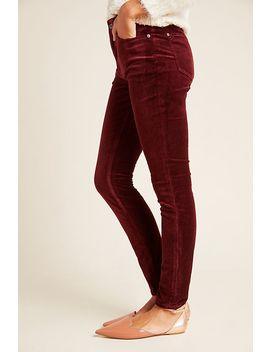 Askel Skinny Velvet Jeans by Anthropologie