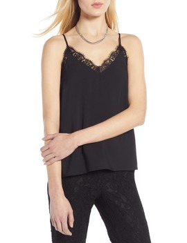 Lace Trim Camisole by Halogen