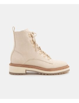 Whitny Boots In Sandstone Canvaswhitny Boots In Sandstone Canvas by Dolce Vita