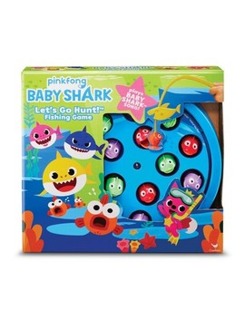 Pinkfong Baby Shark Let's Go Hunt! Fishing Game by Cardinal