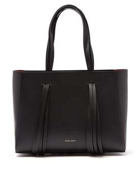 Fringe Leather Tote by Mansur Gavriel