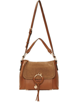 Brown Small Joan Bag by See By ChloÉ