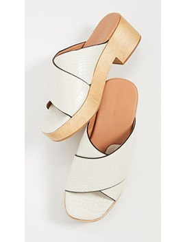 Serge Clog Sandals by Rachel Comey
