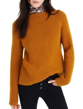 Northfield Mock Neck Sweater by Madewell