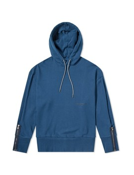 Wooyoungmi Side Zip Small Logo Hoody by Wooyoungmi