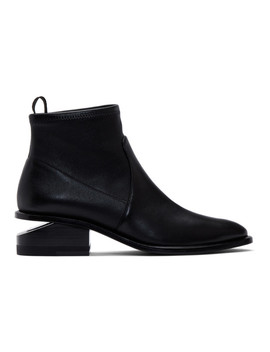 Bottes Noires Stretch Kori by Alexander Wang