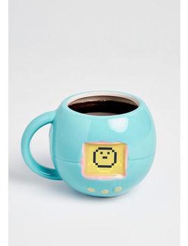 Tamagotchi Ceramic Mug by Modcloth