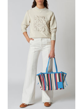 Embroidered Cotton Terry Sweatshirt by Loewe