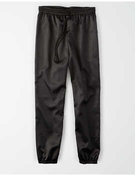 Ae Studio Satin Jogger by American Eagle Outfitters