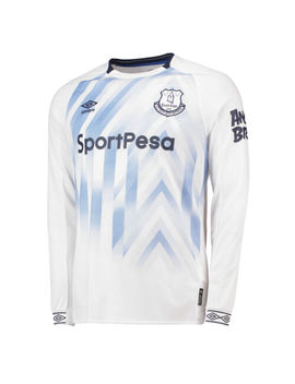 Offiziell Everton Third Shirt Fußball Trikot Oberteil 18/19 Langarm Herren Umbro by Ebay Seller
