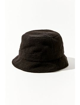 Teddy Bucket Hat by Urban Outfitters