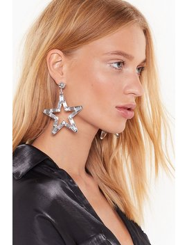 Aim For The Stars Diamante Drop Earrings by Nasty Gal