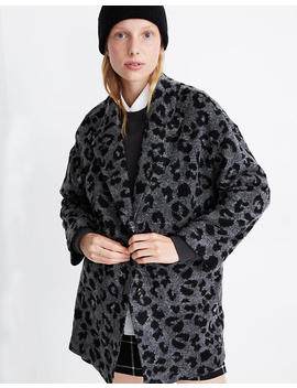 Texture & Thread Blazer Coat In Jungle Cat by Madewell