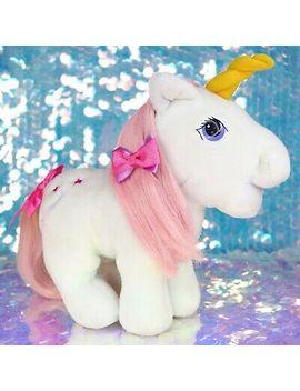 Vintage My Little Pony Moondancer Plush Moon Stars G1 Mlp Hasbro Softies Bf444 by Hasbro