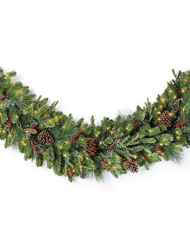Christmas Cheer Cordless Garland by Frontgate