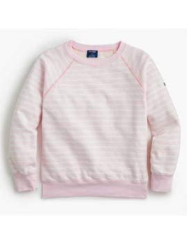 Saint James® For J.Crew Striped Sweatshirt by Saint James