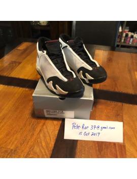 Air Jordan 14 Og Black Toe by Jordan Brand  ×
