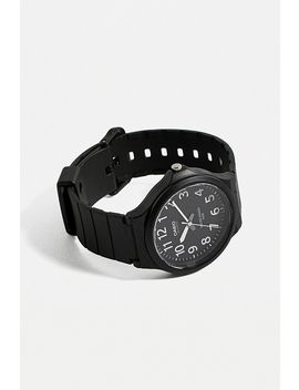 Casio Mw240 Black Watch by Casio