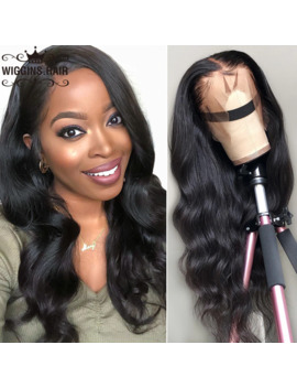 13 X6 Lace Front Human Hair Wigs Wiggins Body Wave Wig Pre Plucked Bleached Knots Wigs Brazilian Remy Wigs by Ali Express.Com