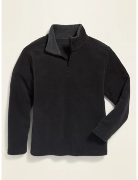 Go Warm Micro Performance Fleece 1/4 Zip Pullover For Boys by Old Navy