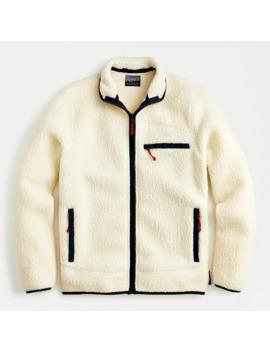 Nordic Jacket In Polartec® Sherpa Fleece by Nordic Jacket In Polartec