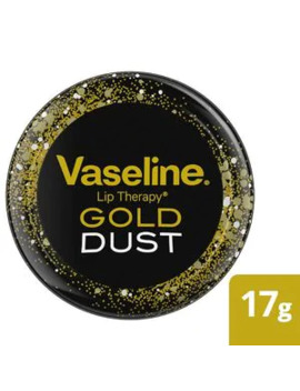 Vaseline Lip Therapy Gold Dust Limited Edition Tin by Superdrug