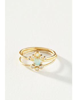 Aurora Ring Set by Anthropologie