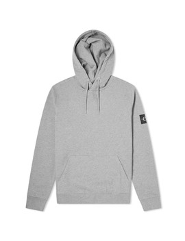 Calvin Klein Monogram Sleeve Badge Hoody by Calvin Klein