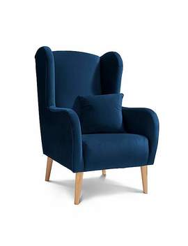 Shelby Plush Chair by Dunelm