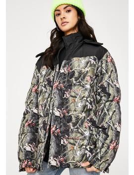 Nerm N' Jerm Tree Camo Puffer Jacket by Ripndip
